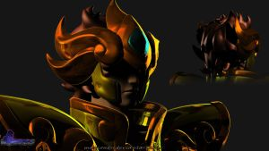 Aioria 3D Character by MayconDSS