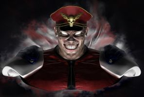 M.bison Military Zbrush render by Danwhitedesigns
