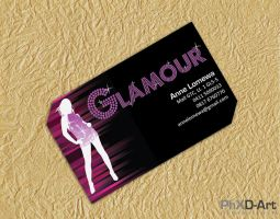 Glamour Business Card by kaizer-phoenix
