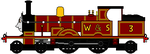 Adam the LSWR 415 by sodormatchmaker