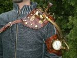 Steampunk half arm by Skinz-N-Hydez