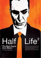 Half Life 2 poster by O-nay