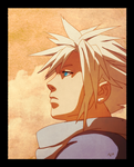 Cloud Stares at the Sunset by tsim