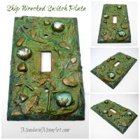 Shipwrecked Switch Plate by MandarinMoon