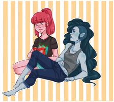 Bubbline by Omnomnom-Monster