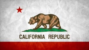 California State Grunge Flag by SyNDiKaTa-NP