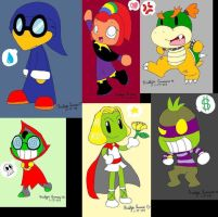TabletDoodles-SuperMarioGroup by PokreatiaForms