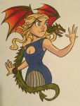 Mother of Dragons by tyrannus