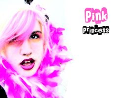 pink princess by littlehippy