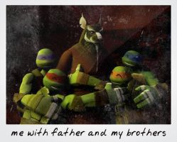 TMNT:: Family Photo by Culinary-Alchemist