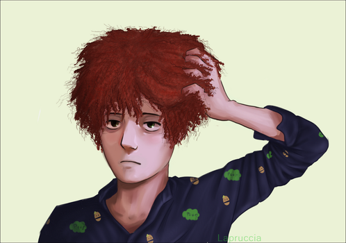 Kyle's Jewfro by Lapruccia
