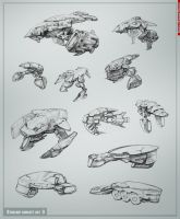 Starship concept art part3 by Allius