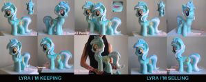 Lyra Heartstrings Plushie x2! (SOLD!) by moggymawee