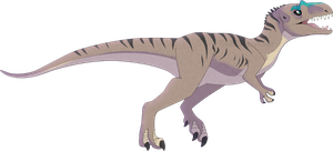 Allosaurus Commission -CM- by MBPanther
