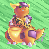 Wild KANGASKHAN appeared by SenayDragon