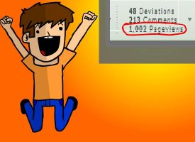 1000 pageviews by jgnatiuk