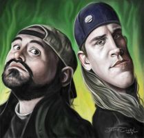 JAY AND SILENT BOB by JaumeCullell