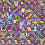 Ocean Icons for use by OceansDream