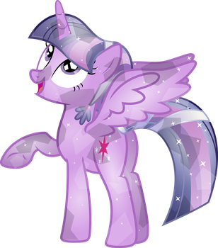 Crystal Twilight Sparkle by TheShadowStone