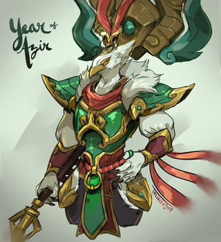- Year of the Rooster - by talikira