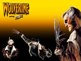 Ross Wolverine Wallpaper by scottalynch