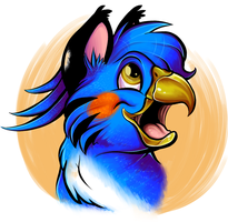 :: $10 Headshot Commission Example: Sao :: by King-Gigabyte