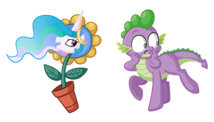 Drawings from MLP Comics by TheCheeseburger