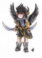 .: ~Pittoo(DP) - Kid Icarus Uprising - crayons~ :. by PrideAlchemist7