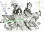 3 Jedi by Sanzo-Sinclaire