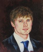 Bradley James by ObsidianSerpent