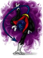 Nightcrawler EVOLUTION COLORED by LucasAckerman