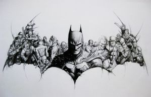 BATMAN by Pencilsketches