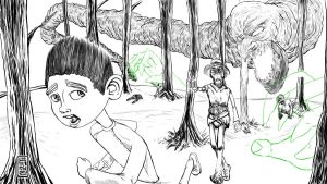 08 19 2012 ParaNorman Fan Art upate. I saw the mov by LineDetail
