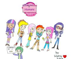 My Little Humans! One by girlz-who-say-ni
