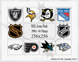 NHL Icons Pack by conzumir