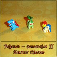 Pokemon - Gen 2 Starter Charms