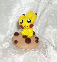 Pikachu Chocolate Chip Cookie by LaPetitLapearl