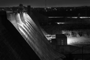 Mansfield Dam by atomicowboy