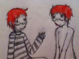 Two of me RP OCs by IamaQuebecian123