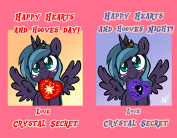 Happy Hearts and Hooves Day by Noxavous