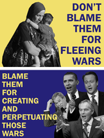 Don't Blame Refugees by Party9999999