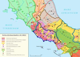 The Roman Republic (c. 510 - 300 BC) by Undevicesimus
