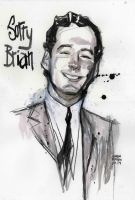 Brian Epstein painting by Andrew-Robinson