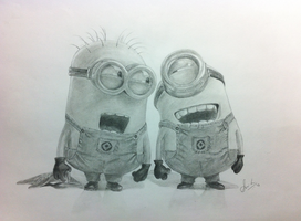 Minions by ms24khan