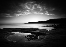 Kimmeridge Evening by Mohain