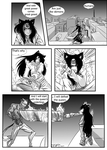 Sample page Fox Demons by MangakaOnline