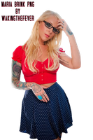 Maria Brink PNG 2 by WakingTheFever