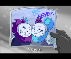 Undertale:: Underswap:: SwapFell :: Memories by SpaceJacket