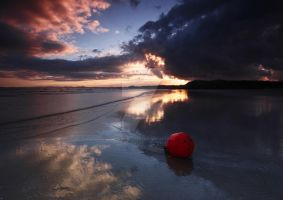 Buoy on Blackrock Sands by DL-Photography