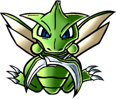 Scyther by InfinityFangX